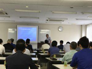 高速紙工業㈱小山社長によるユーザー講演